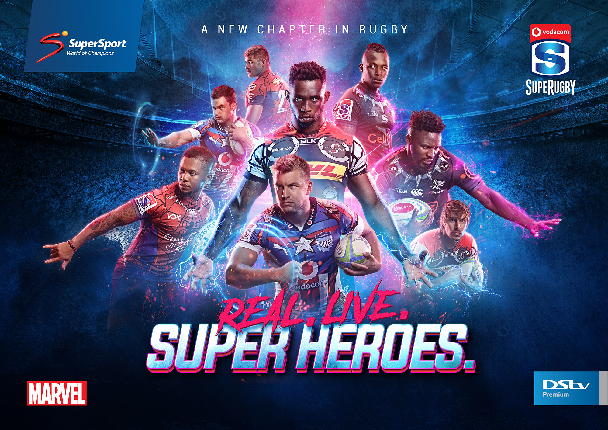 supersport superrugby marvel dstv real live shoot brandon barnard photography