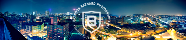 Johannesburg City Skylines by Brandon Barnard Professional Photographer