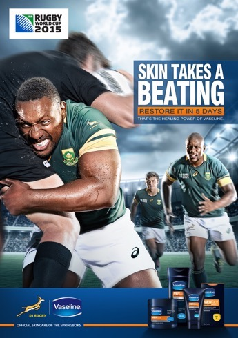 Sports Photography South African Springboks Rugby Team - Photography by Brandon Barnard Photographer for Vaseline